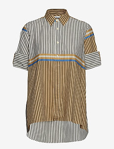 Tour Shirt - BEIGE STRIPE