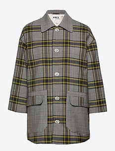Uni Jacket - GREEN CHECK