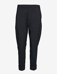 Law Trousers - NAVY STRIPE