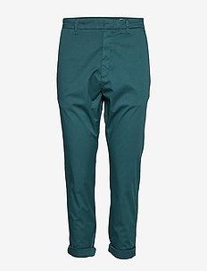 News Trousers - DEEP GREEN