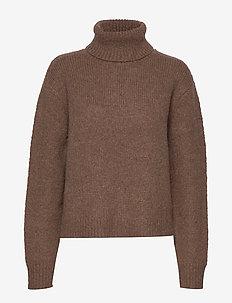 Nova Sweater - KHAKI BROWN