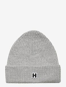 H Hat - kapelusze - lt grey mel