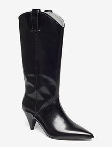 Vulcan Boot - lange laarzen - black