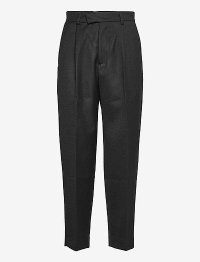 Alta Trousers - bukser med lige ben - black