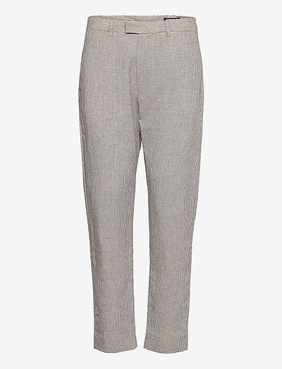 Krissy Edit Trousers - casual byxor - brown dogtooth