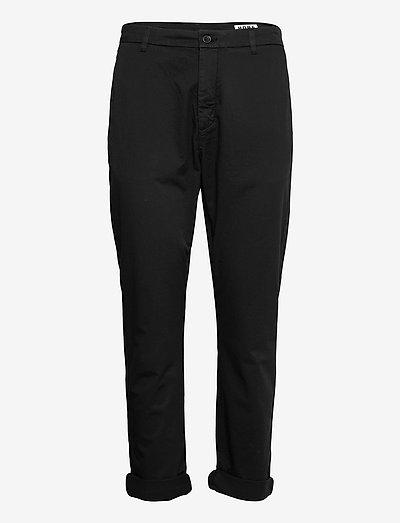 News Edit Trousers - hosen casual - black