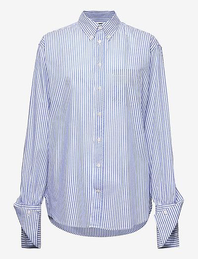 Brave Shirt - denimskjorter - blue stripe