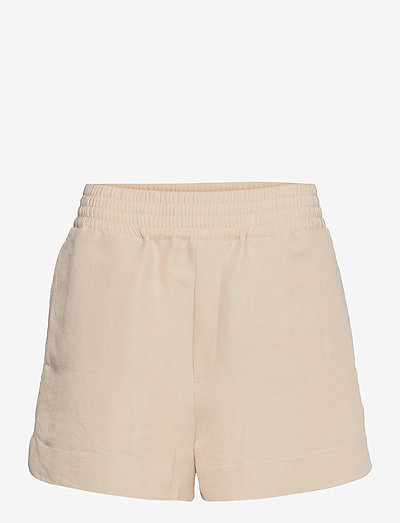 Shine Shorts - casual shorts - beige