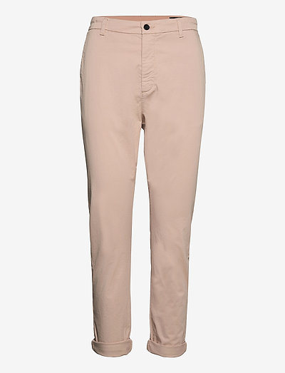 News Edit Trousers - chinos - dusty pink