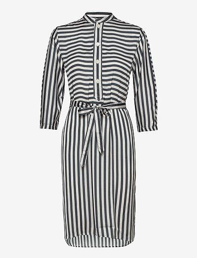 Flex Dress - sommerkjoler - beige stripe