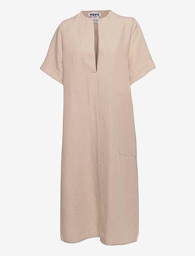 Hyde Dress - sommerkjoler - beige