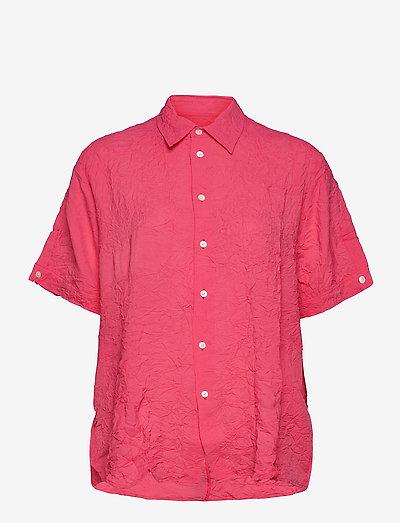 Elma Shortsleeve - jeansblouses - pink crinkle