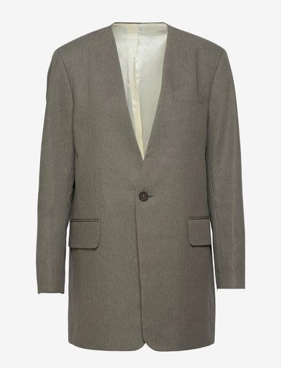 Sketch Blazer - skreddersydde blazers - sage grey