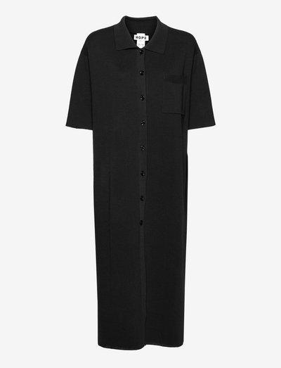 Ever Dress - skjortekjoler - black
