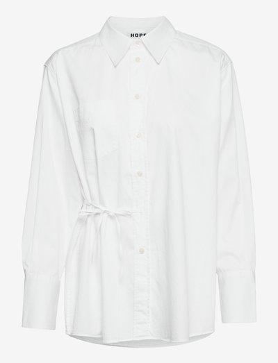 Trip Tie Shirt - denimskjorter - eggshell