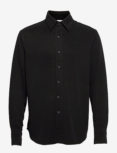 Scene Shirt - linneskjortor - faded black