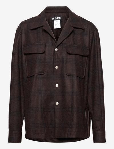 Wall Shirt - tøj - brown check