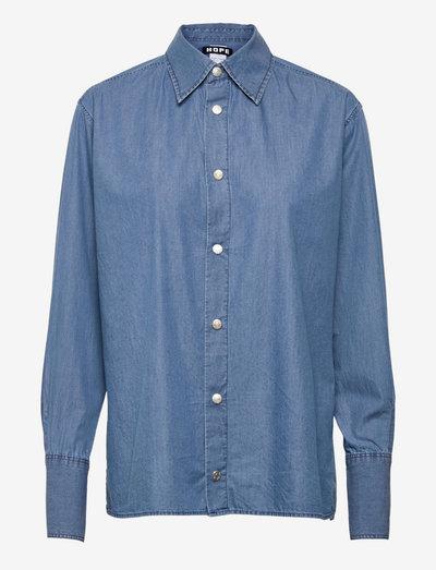 Dig Shirt - denim shirts - blue denim