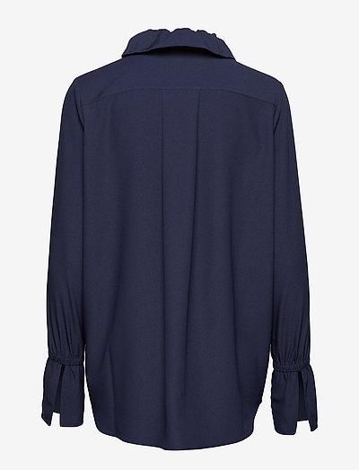 Hope Velo Shirt- Bluzki & Koszule Dk Navy