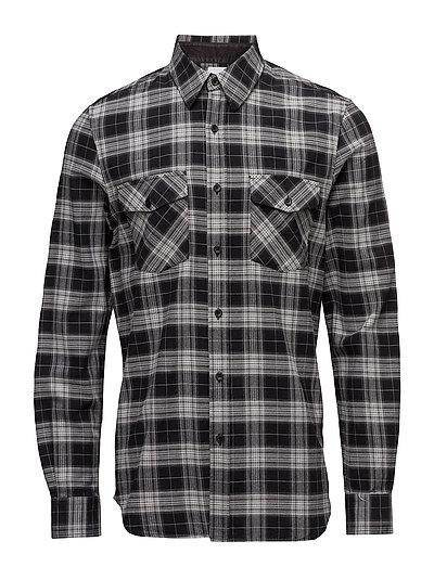 Uni Pocket Shirt - BLACK CHECK