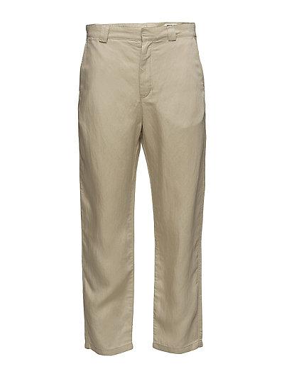 Chang Clean Trouser - BEIGE