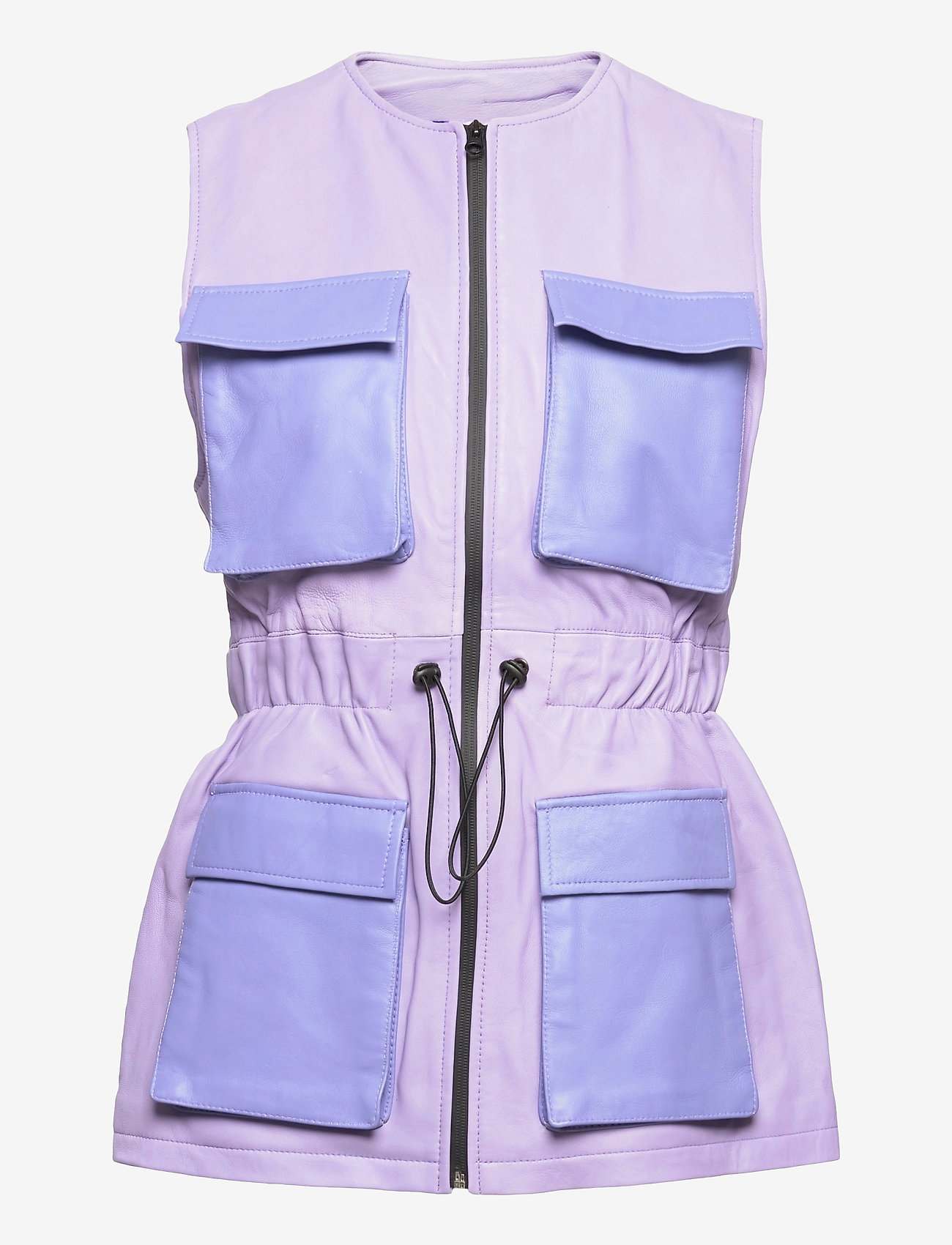 Hosbjerg - AMY BRODIE VEST - puffer vests - light purple/purple - 0