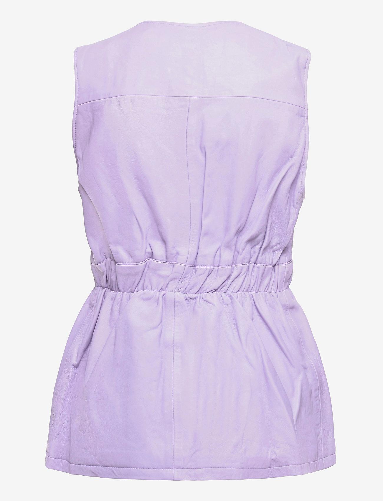 Hosbjerg - AMY BRODIE VEST - puffer vests - light purple/purple - 1