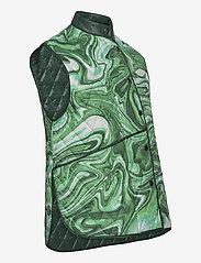 Hosbjerg - ALICE VICTORIA VEST - puffer vests - green liquid - 3