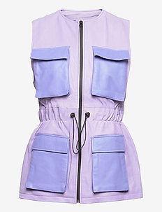 AMY BRODIE VEST - puffer vests - light purple/purple