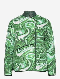 ALICE VICTORIA JACKET - quilted jackets - green liquid