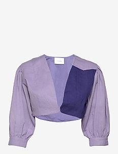 ALINA BOLERO - vestes legères - blue/purple