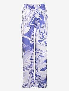 ASTA OLIVIA PANTS - pantalons casual - purple liquid