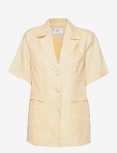 BABETTE SARAH BLAZER - vestes casual - light yellow