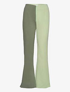 VEDA PANTS - pantalons - khaki/olive