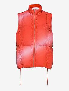 CATH DONNA TAMARA VEST - vests - red fade