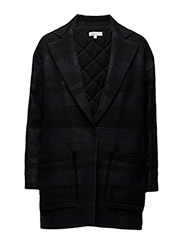 3/4 lengh jacket - BLACK