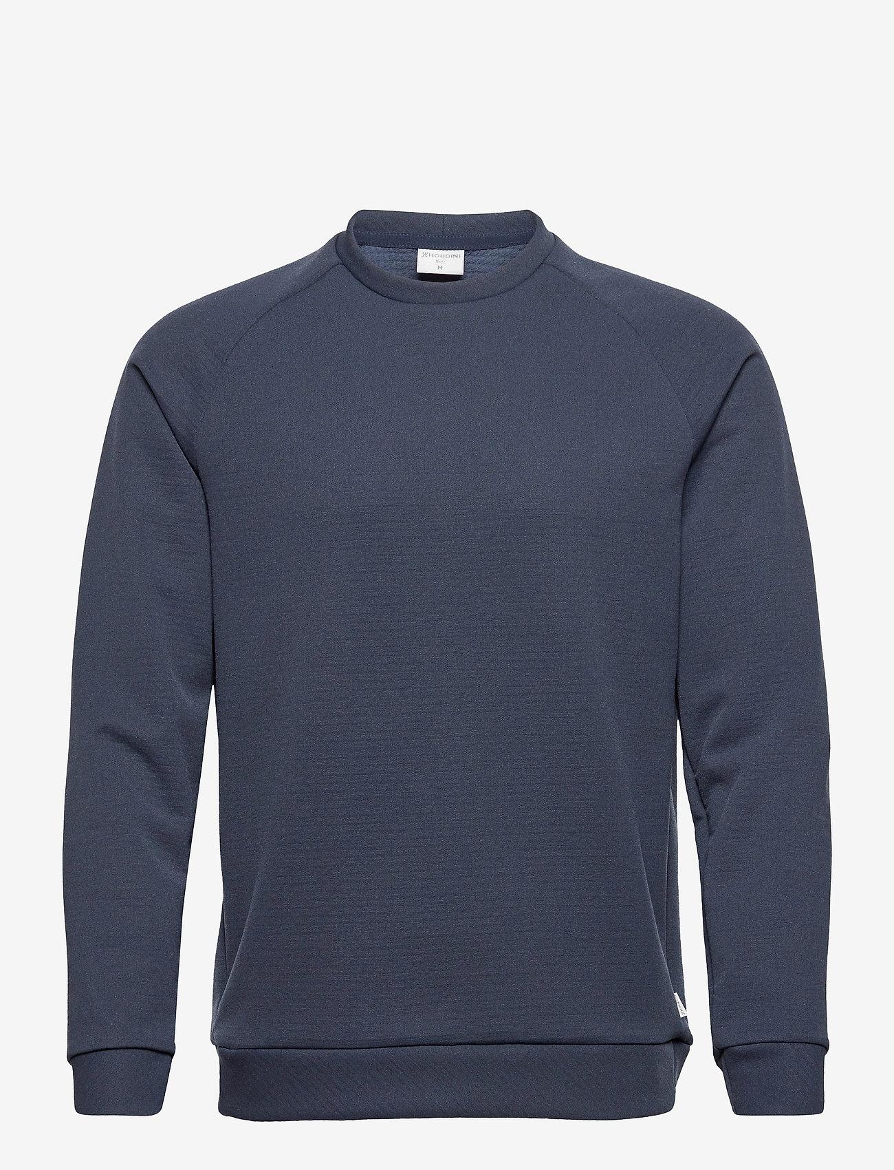 Houdini - M'sono Air Crew - basic-sweatshirts - blue illusion - 0