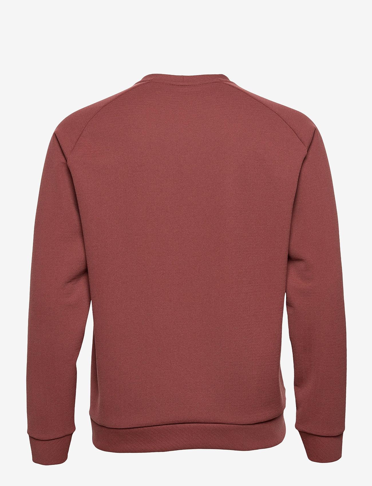 Houdini - M'sono Air Crew - basic-sweatshirts - terra red - 1