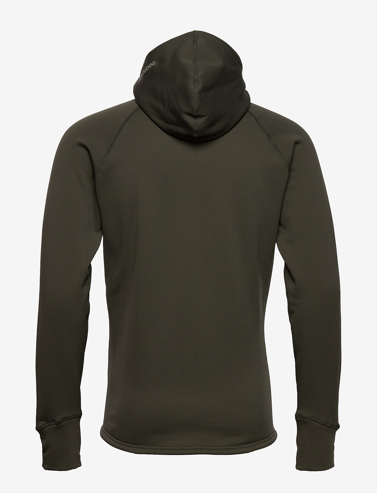 Houdini - M's Power Houdi trueblack/trueblack S - fleece midlayer - willow green - 1