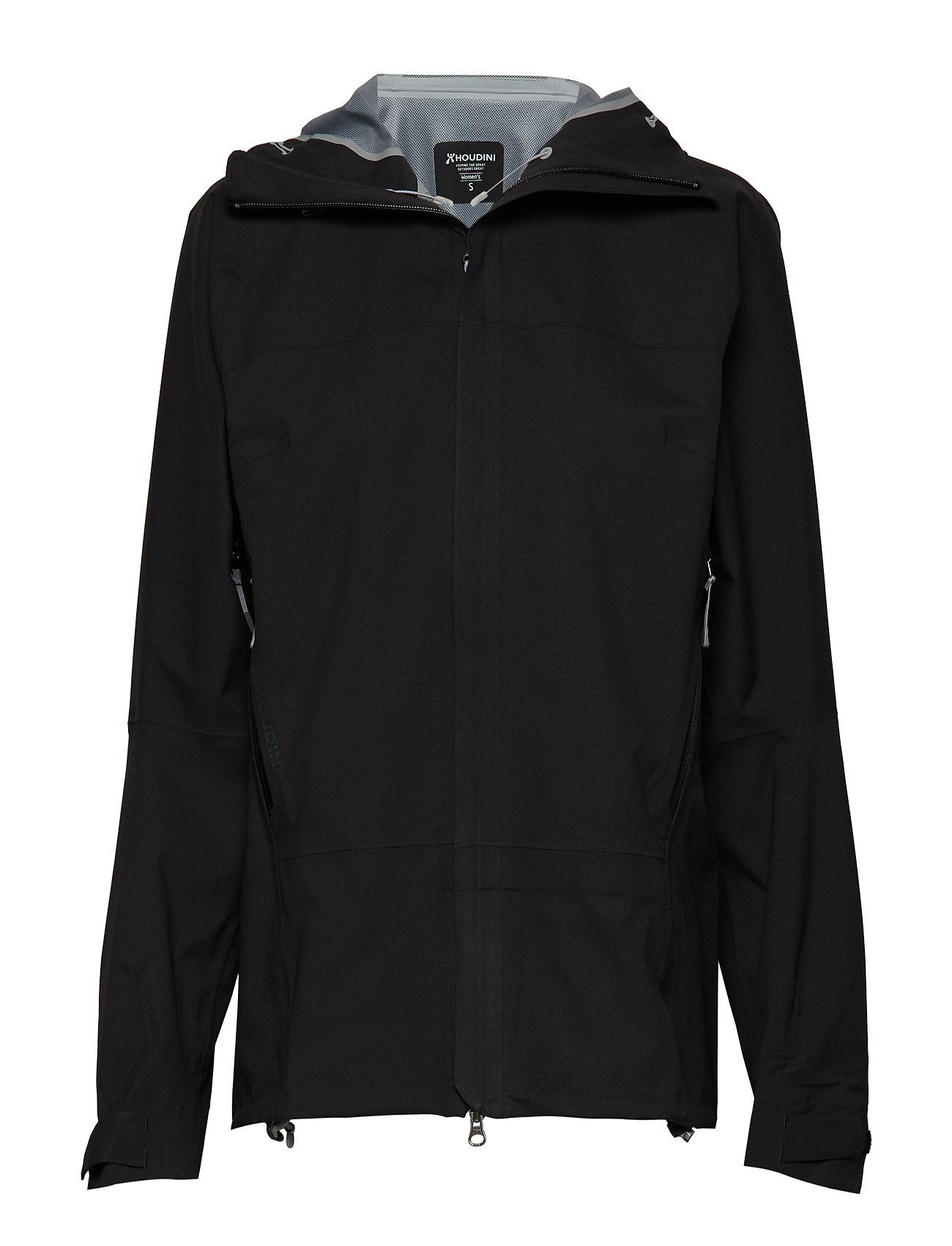 Houdini W's BFF Jacket - TRUE BLACK