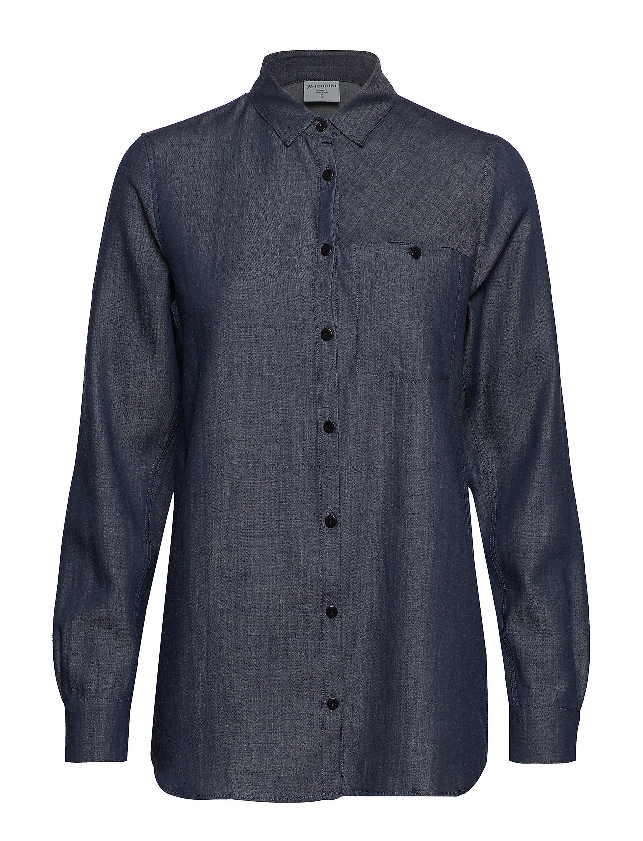 Houdini W's Out And About Shirt - BLUE ILLUSION