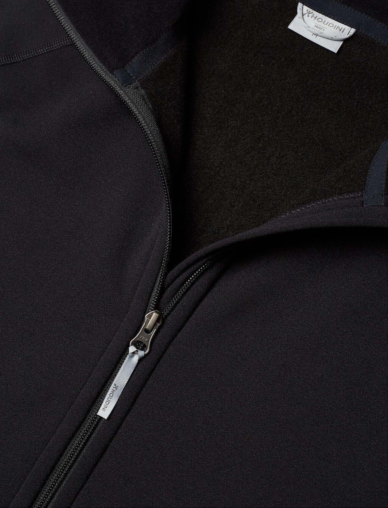 Houdini M's Power Houdi trueblack/trueblack S - Sweatshirts TRUE BLACK/TRUE BLAC - Menn Klær