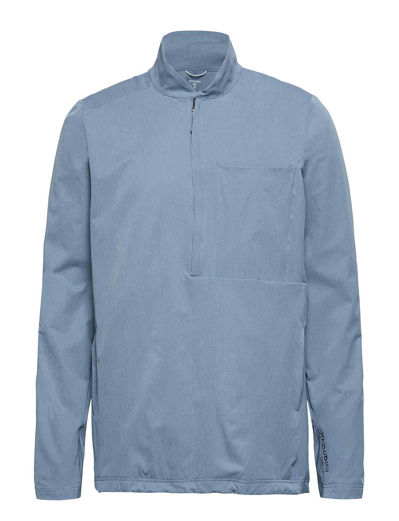 Houdini M's Daybreak Pullover - SHIVERING BLUE