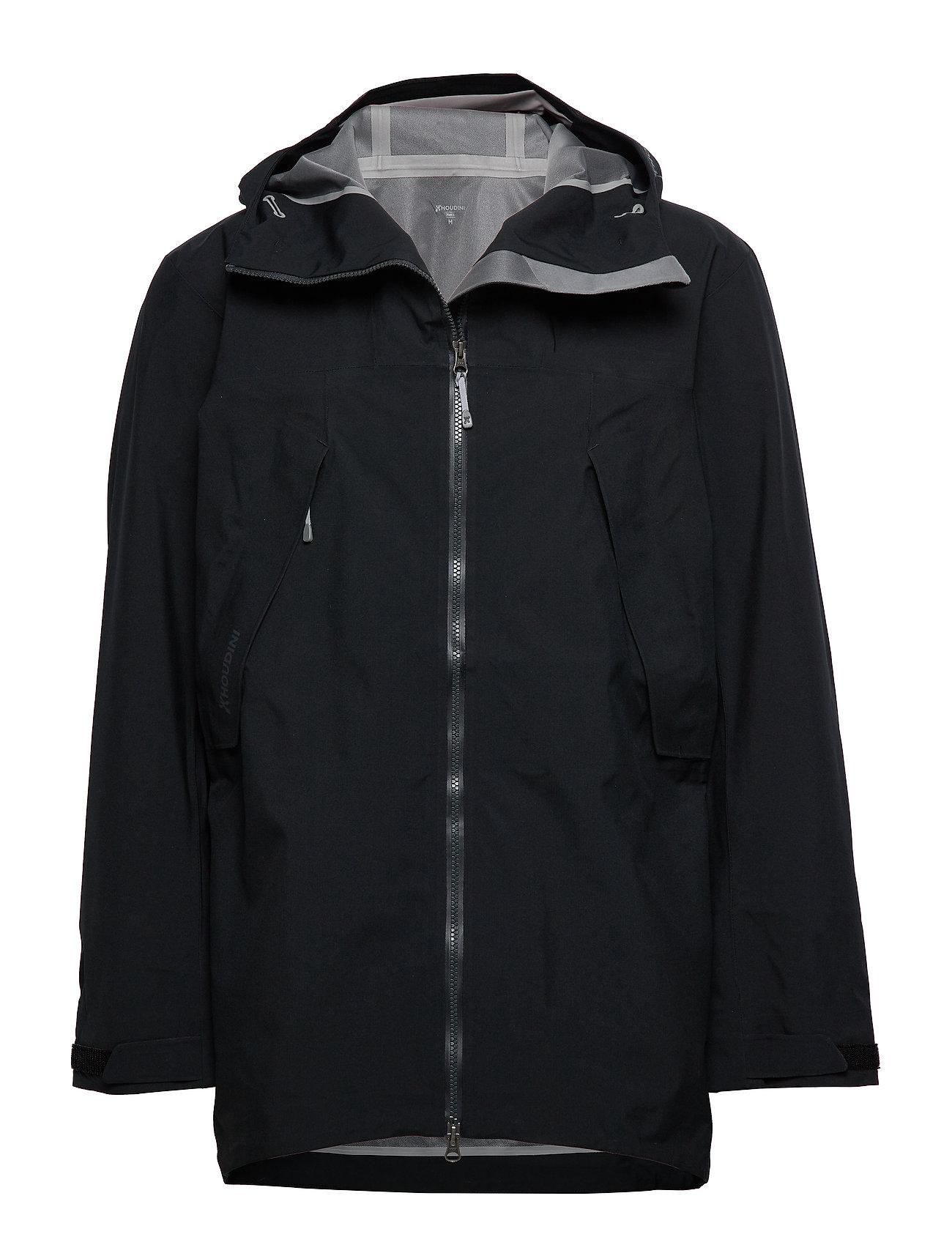 Houdini M's Leeward Jacket - TRUE BLACK