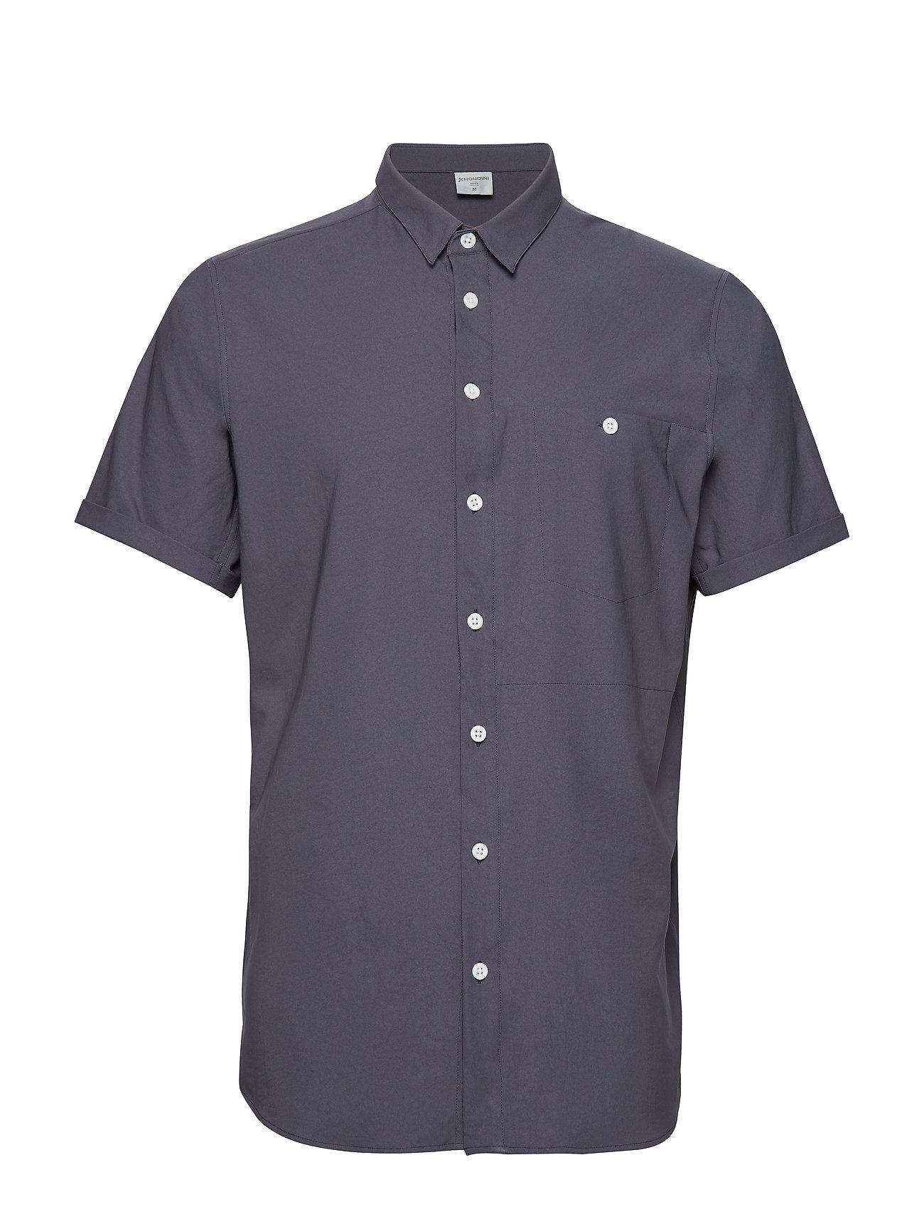 Houdini M's Shortsleeve Shirt - BIG BANG BLUE