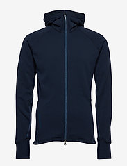 Houdini - M's Power Houdi trueblack/trueblack S - fleece - blue illusion - 0