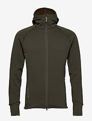 Houdini - M's Power Houdi trueblack/trueblack S - fleece midlayer - willow green - 0