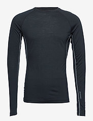 Houdini - M's Desoli Crew - base layer tops - true black - 0