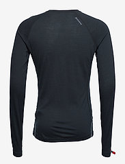Houdini - M's Desoli Crew - base layer tops - true black - 1