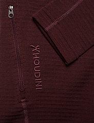 Houdini - W's Wooler Houdi college grey XS - mellomlag i ull - raspberry rush red - 3